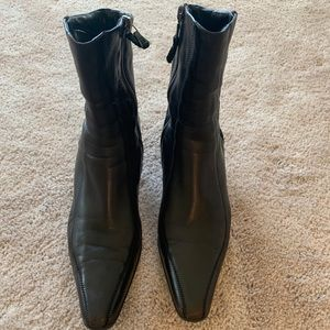 Authentic Brown PRADA ankle boots-MINT!